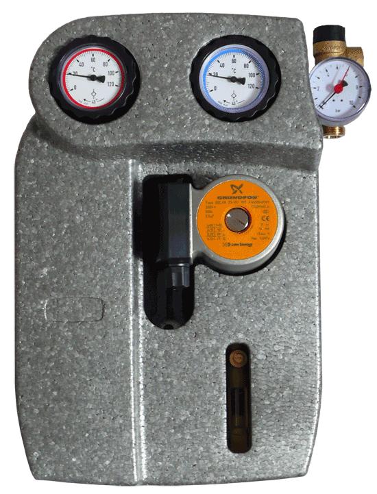 IB-PG 01 - Grupa pompowa, solarna