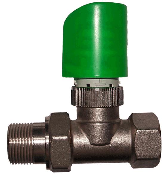 IB-V 2 - Zawór termostatyczny prosty