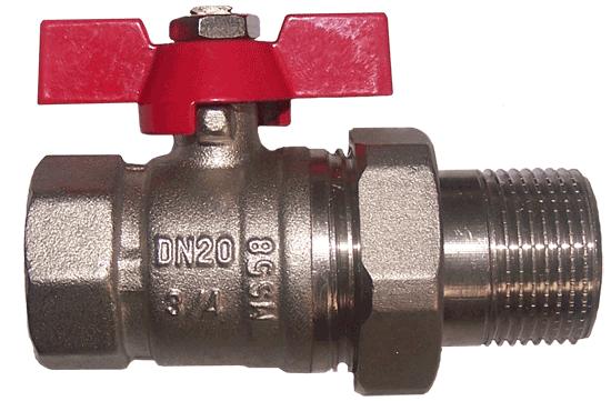 IB-V 4 - Zawór kulowy ze śrubunkiem
