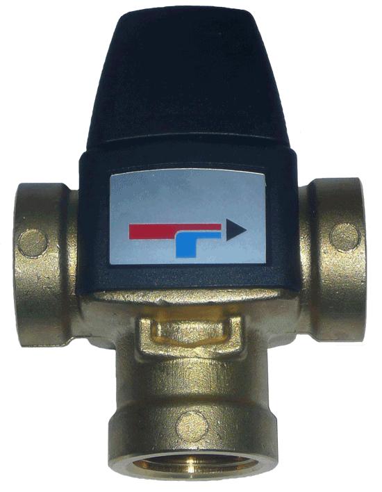 IB-VM 3 - zawór trójdrogowy mieszający c.o.